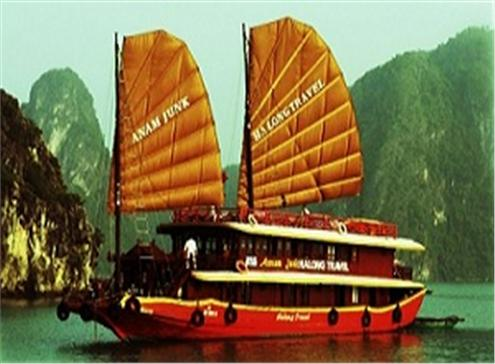 2 DAYS 1 NIGHT HALONG CRUISE ON ANNAM JUNK